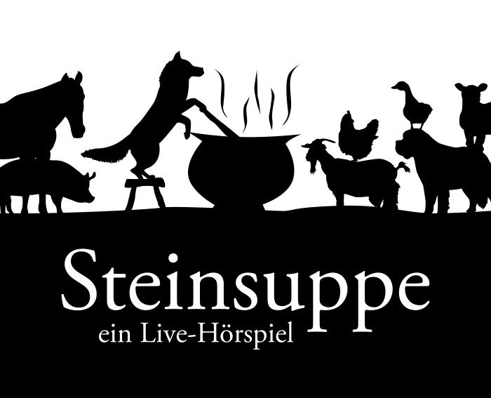 Cover des Hörspiels Steinsuppe LIVE